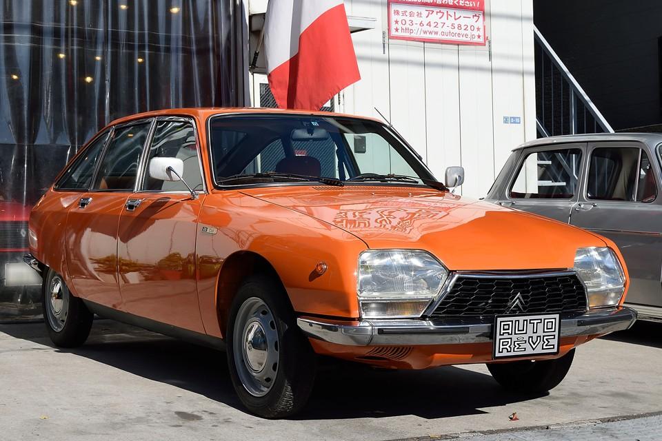 1975(昭和50)年式シトロエンGSクラブ!純正カラーのオレンジが鮮やかなPOPなGSです!