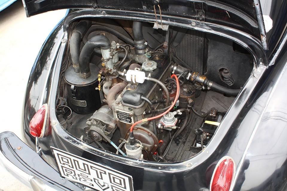 これまた年期の入ったエンジンですが、見た目とは裏腹に調子はすこぶる良好!
