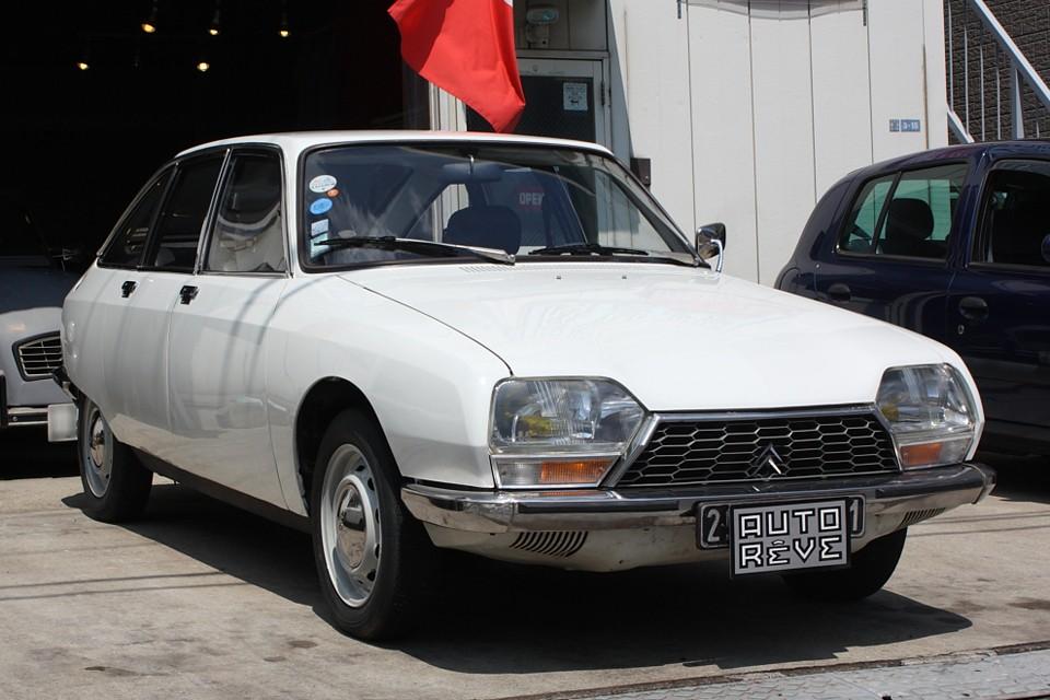 1972年(昭和47)年式シトロエンGS!希少な1015ccエンジンの最初期型です!