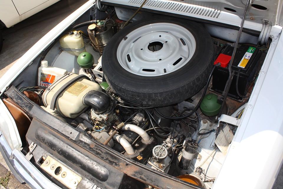 空冷水平対向4気筒1015ccのエンジンは意外とパワフル! 市街地走行はもちろん、高速道路で1●0Km巡航も普通にいけちゃいます!