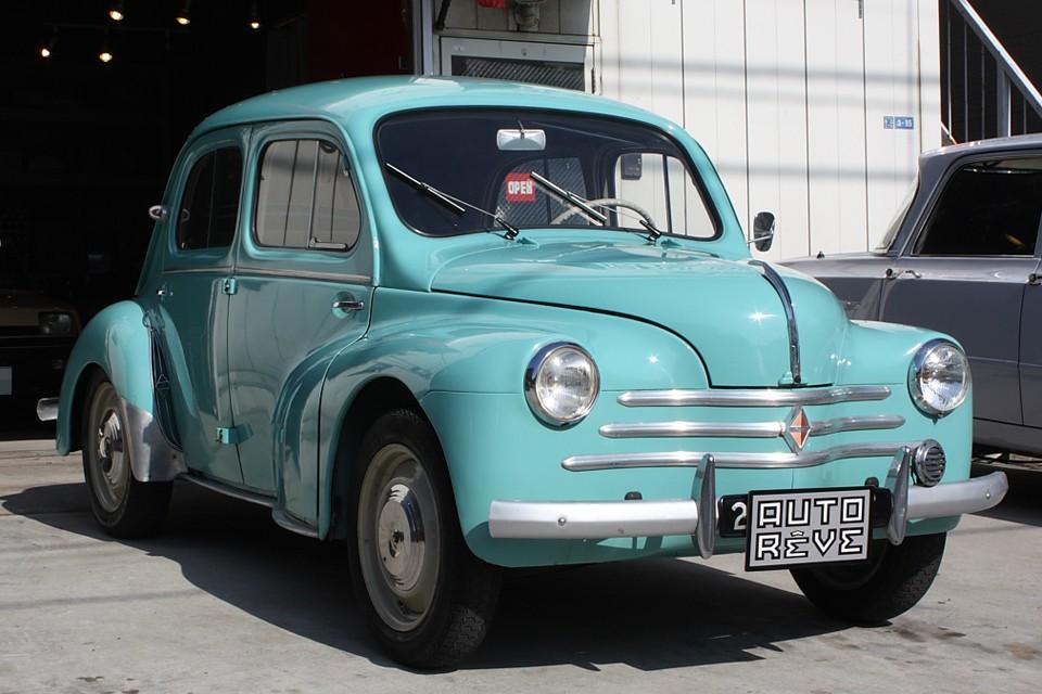 1958(昭和33年)式、ルノー4CV!フランスより直輸入の美車!