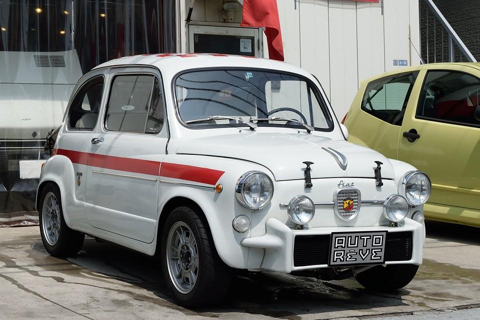 1966(昭和41)年12月製造、FIAT600corsa!(FIAT ABARTH 850TC conversions)