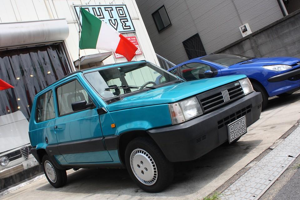 今、イタリア車で経験しておくべきクルマは?と聞かれれば…それはやっぱりパンダではないかと。