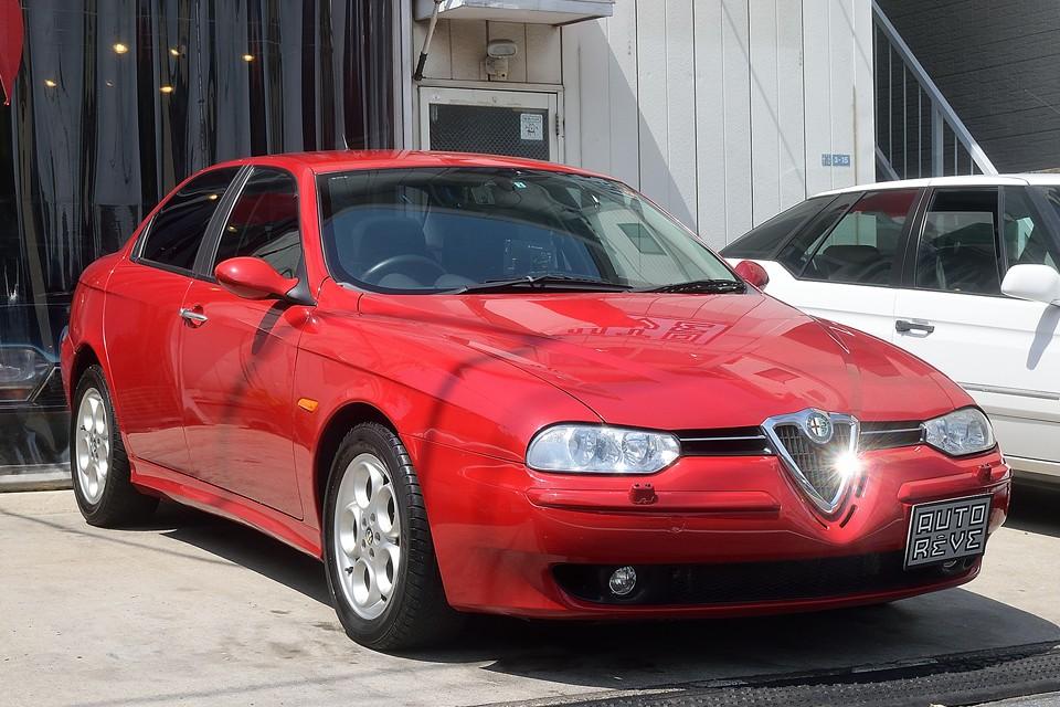 2004年式アルファロメオ156 V6 2.5 Qシステム!何と走行2.1万kmの美車!156に乗りそびれた貴方!これは最後のチャンス?!かも・・・。