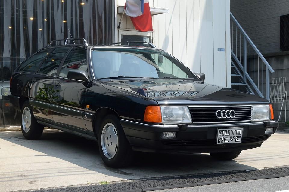 初度1990年3月登録、アウディ100アバント2.3E!アウディらしいエレガントなワゴン車!もちろんチョ~希少車!