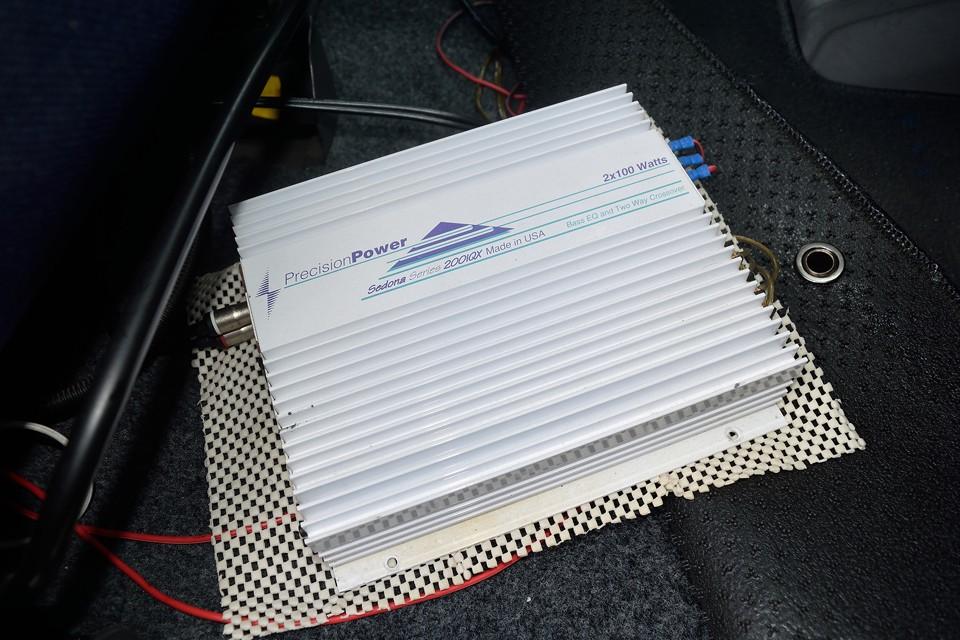 と言うことは・・・もちろんパワーアンプも装備なのです!オーディオはバッチリですね。