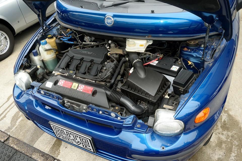 1600ccクラスのエンジンを造らせたらフィアットは上手いよねぇ~!やはり歴史でしょうか・・・。トルクも十分でとても扱いやすいエンジンです!