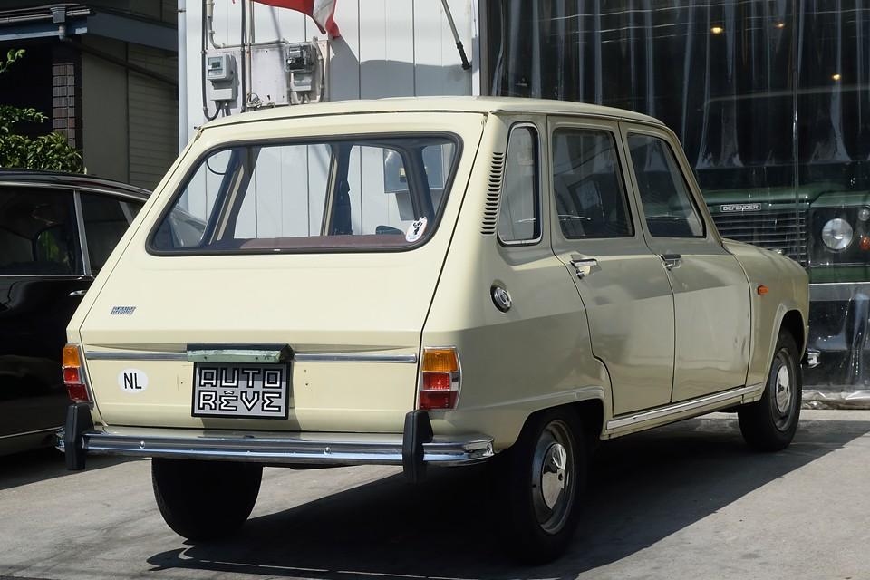 日本では4(キャトル)は結構見かけますが、この6(シス)は生きた化石の如く?!見かける事は皆無のチョ~希少車!輸入したばかりの国内未登録車!新規登録、3年車検となります!