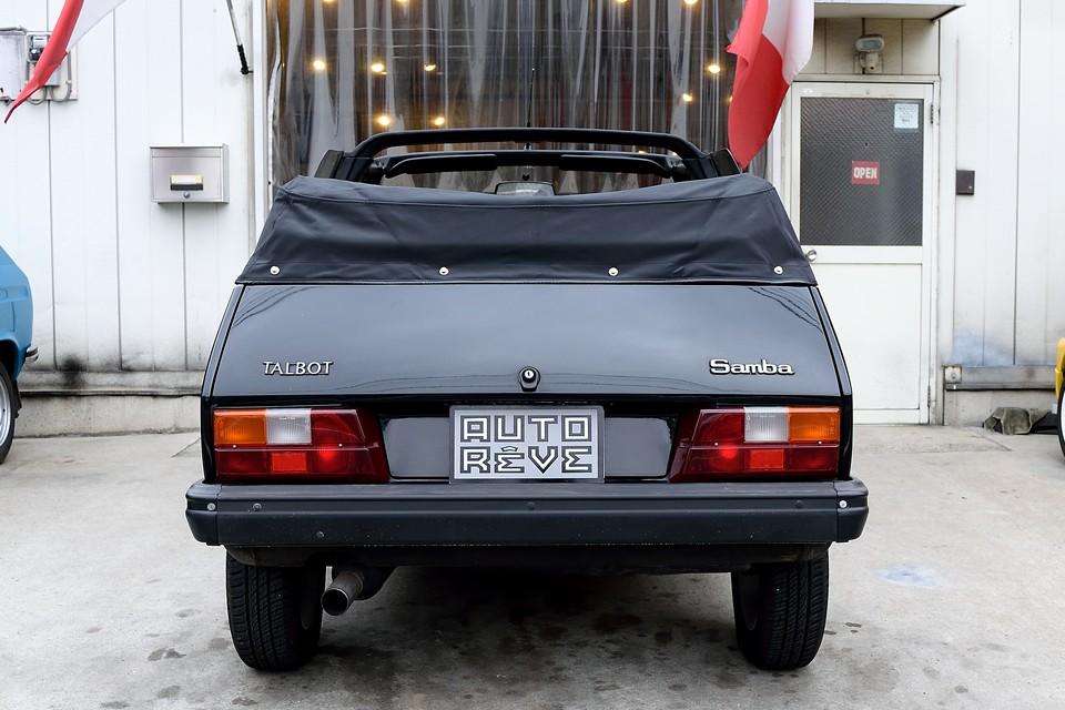 兄弟車のプジョー104ともシトロエンLNやビザとも違う、まさしく紛れもなく「タルボ」!