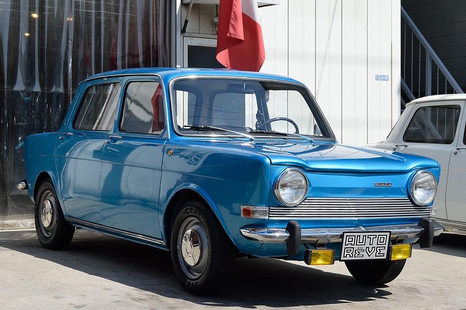 1975(昭和50)年式 シムカ1000LS!欧州より直輸入!ごく普通なのに、全く見ないチョ~希少なシムカ!フィアット系エンジンにフランス合理主義ボディ!イタフラ車の行きつく先は、ここかもね。