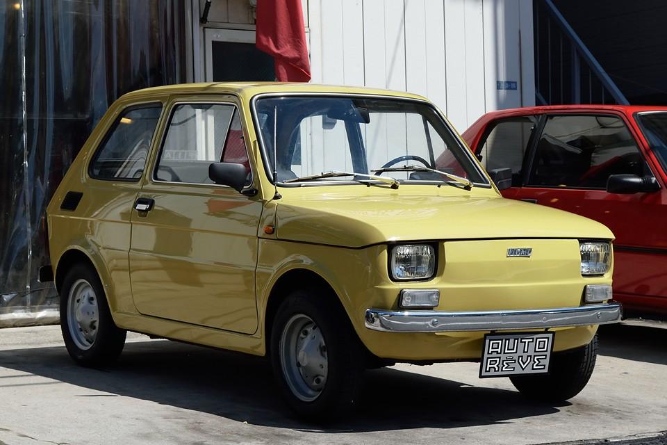 1974(昭和49)年式フィアット126!イタリア製126の初期600ccモデル!欧州より直輸入!国内未登録車につき新規登録3年車検となります!