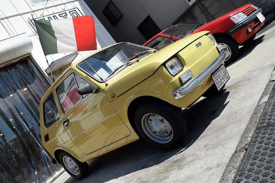 古き良き友と語り合うかのような時間をくれる事、間違いなしなのです!FIAT126!いかがですかぁ~!