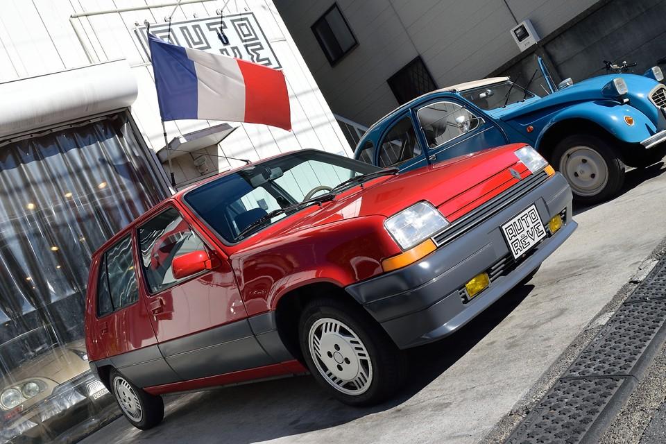 「ルノー 5 Automatic」改め?! 日本向け特別仕様!その名も・・・「ルノー 5 Automatic JAPON!」 いかがですか~?