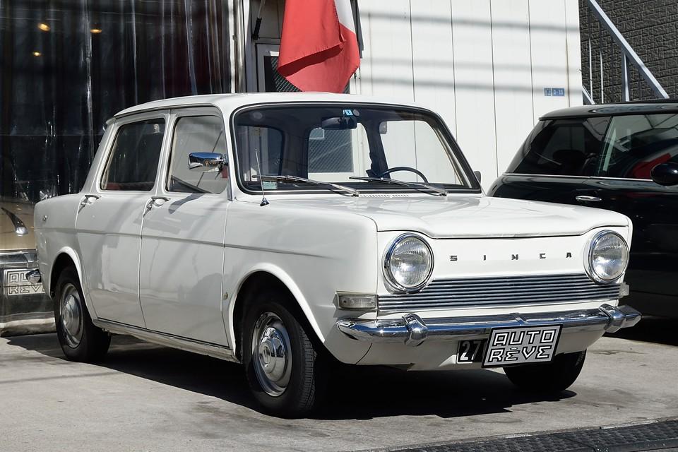 1968年式シムカ1000、素朴で実直な、まさにフレンチベーシックセダン!・・・ですが超希少車!