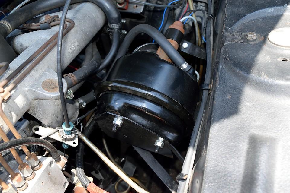 ブレーキマスターは前オーナー様により、1年ほど前に交換済!旧車はブレーキが肝心ですからね。