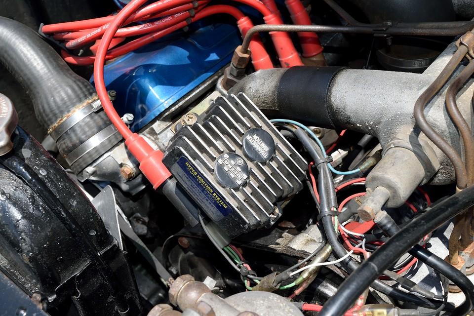 点火系はフルトラ化でより安定仕様に!旧車は点火が肝心ですからね・・・結局、全部肝心じゃん?!(笑)
