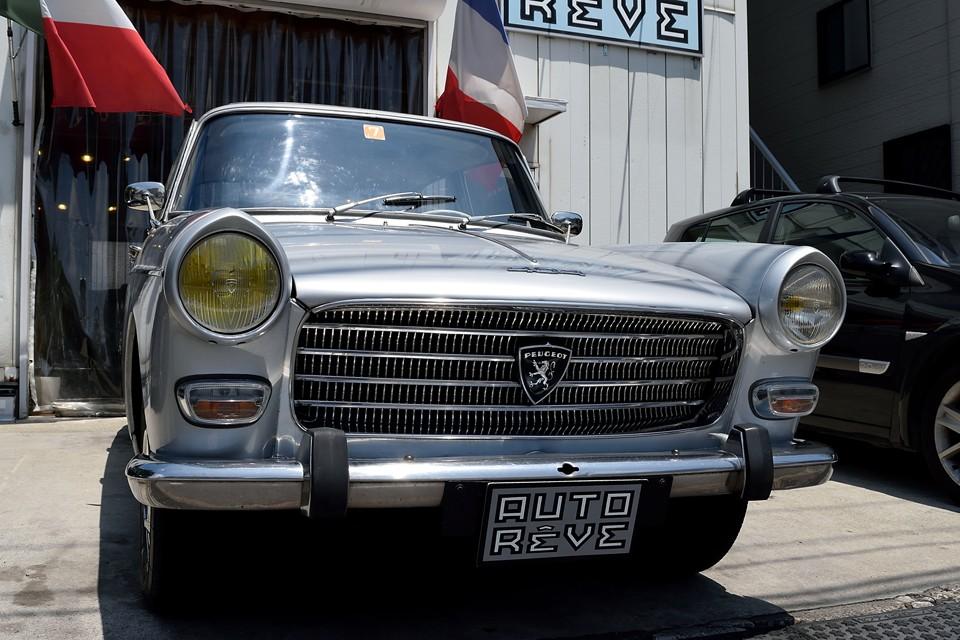 そんな時代を築いた404にも関わらず、日本での知名度は・・・ほぼ皆無。何を隠そう私も実車を見るのは、これが初めて。