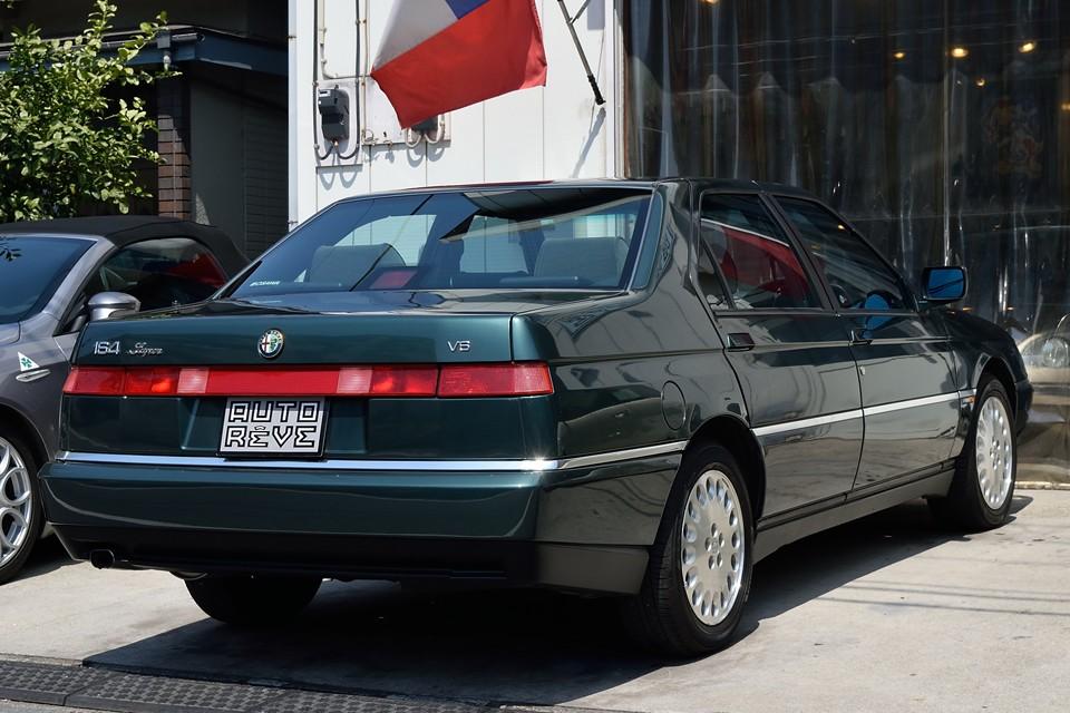 164Superでも本モデルは1996年5月~のSuper12Vと呼ばれるSOHCエンジン搭載車。高回転型でパワーのあるSuper24Vももちろん良いのですが・・・。