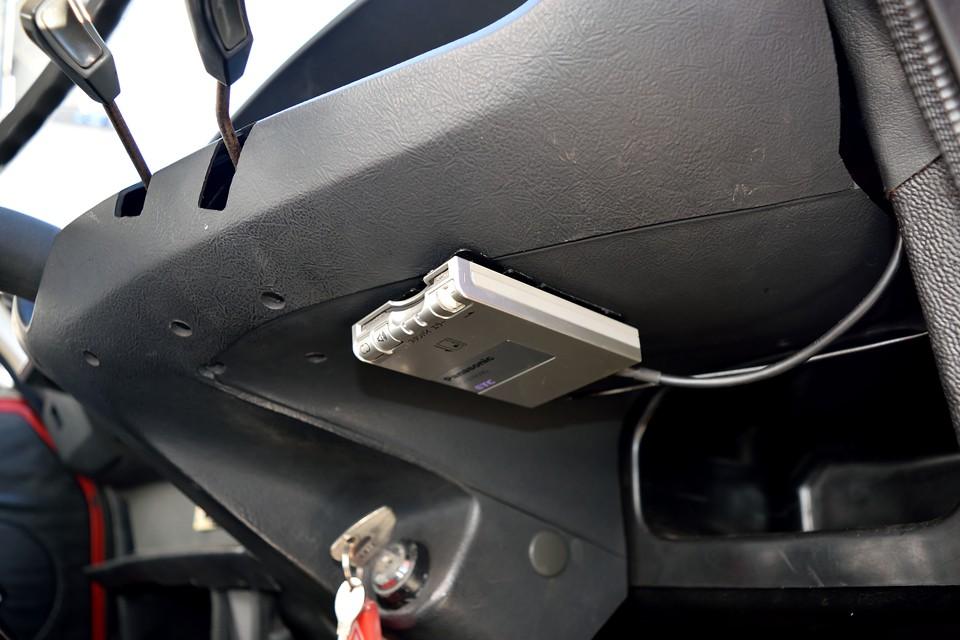 ETCももちろん装備!パナソニック製のアンテナ別体、音声案内タイプです。