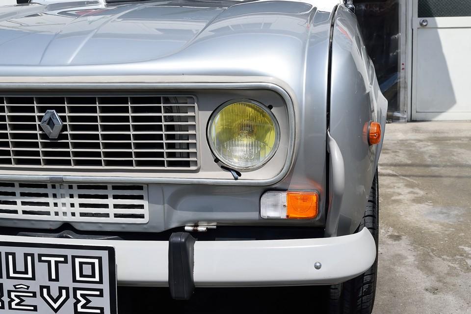 キャトルはやっぱりイエローバルブが似合いますね。ヘッドライト、ウインカーも目立つ劣化はありません!それとバンパーがキレイなのがお分かりいただけるかと・・・弊社入庫時、クリア劣化状態でしたので、塗装しちゃいましたぁ~!