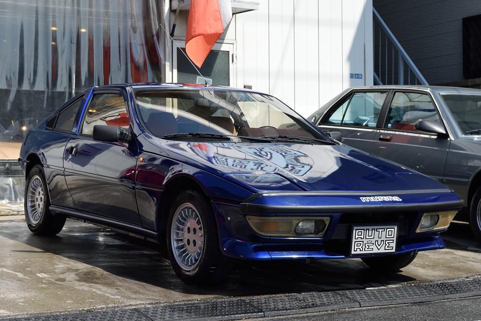 1983年式タルボ・マトラ ムレーナ2.2!フランス車には珍しいスポーツカーらしいボディと、リアミッドシップが生み出すその走りは、フランスどころかイタリアをも超えた?!