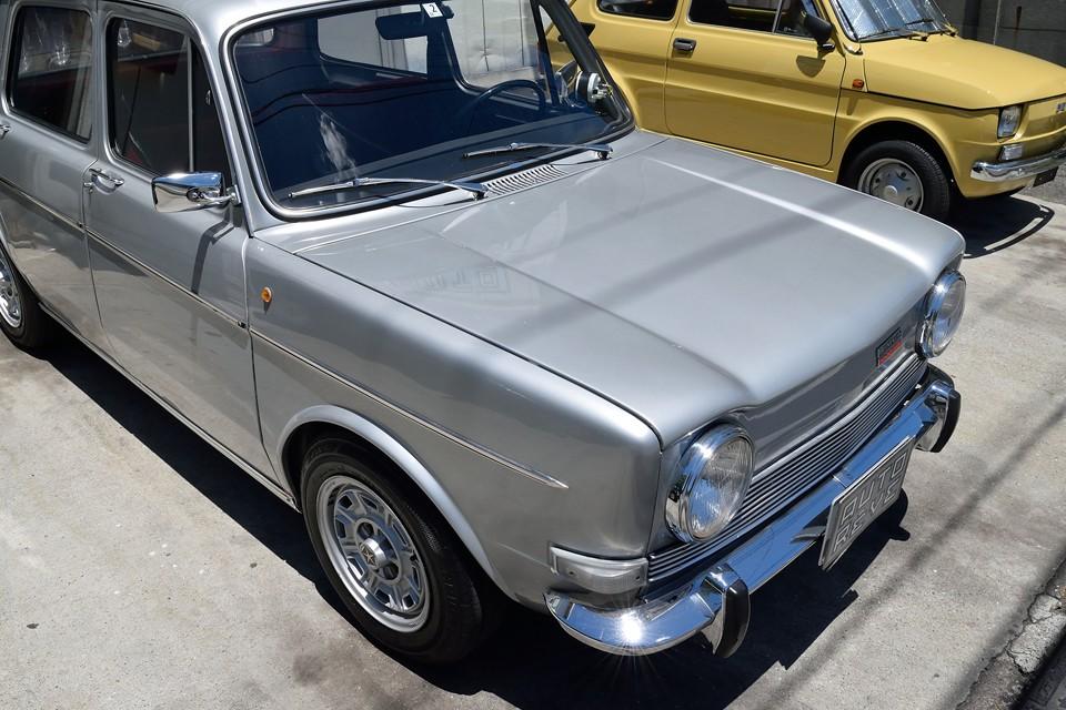 塗装の状態はとても良いです。もともとは、塗装の品質では定評のある英国の旧車専門店で仕上げられ、はるばる日本にやってきた個体です。
