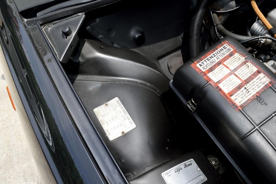 エンジンルーム内のボディパネルがこの状態です。手が汚れないエンジンルームって・・・。