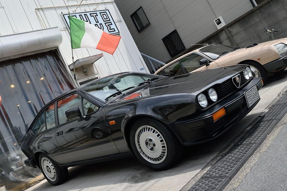 アルファのエキゾーストに血が沸き立つ方になら、間違いなく名車となるアルフェッタ!いかがですか?