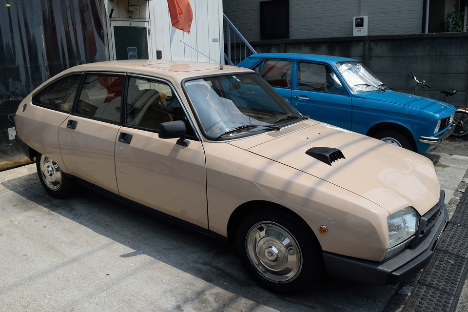 今や希少なGSA・・・その中でも更に希少な正規ディーラー、右ハンドル車。35年を経ても、未だ放ちつづけるその独特の魅力・・・。