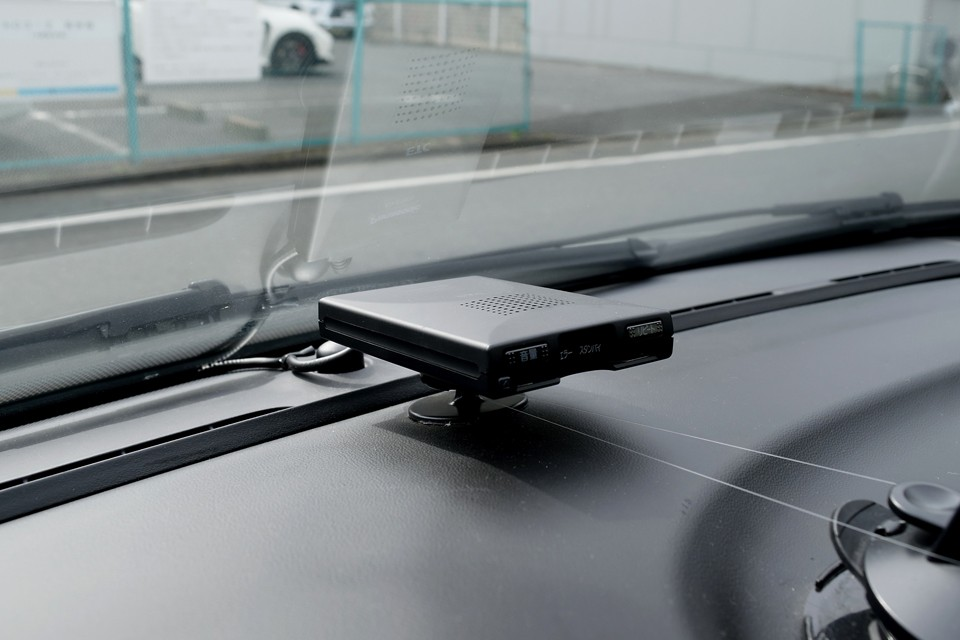 もちろんETCも装備。左ハンドル車にはもはや必須なのです。