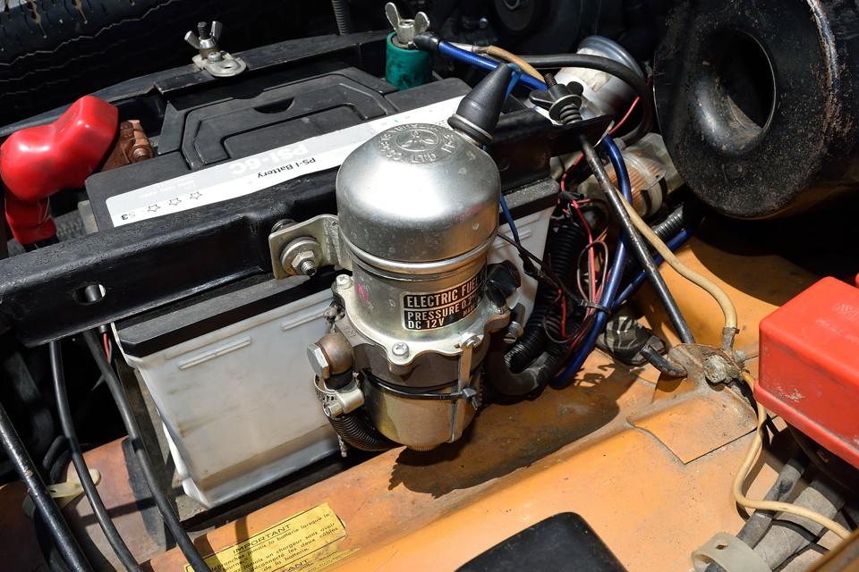 燃料ポンプは電磁式にアップグレード!日常的にお乗りになるならこれはもはや必須アイテム!
