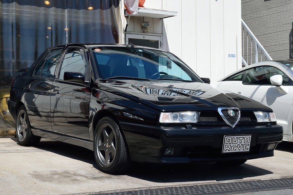 1998(平成10)年式 アルファロメオ155 2.0 ツインスパーク16V!最後の限定車ファイナルエディション500台のうちの22番目!まさにメンテナンスの賜物と言える稀に見る美車なのです!