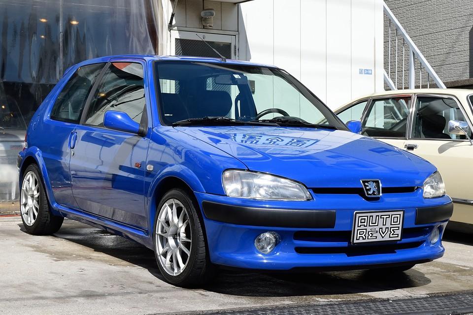 2002(平成14)年式プジョー106 S16!肥大化した現代の車が忘れている「操る楽しさ!」の塊のようなHOTハッチ!走行多いですが、そんなこと気にならないくらいの良質美車!探している方、急いで~!