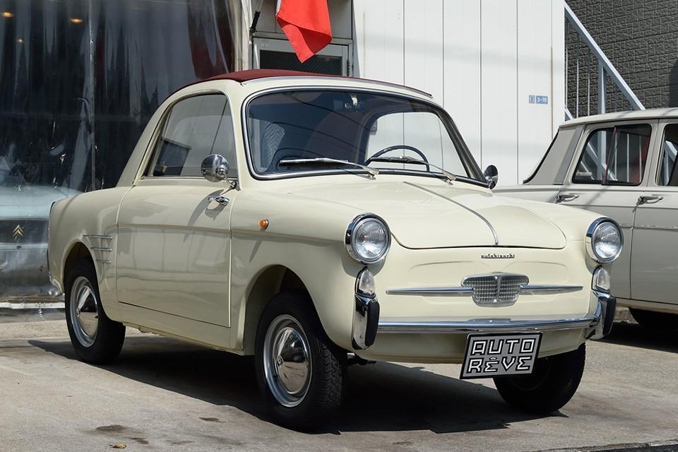 1960(昭和35)年式 アウトビアンキ・ビアンキーナ・トラスフォルマービレ!FIAT500をベースに、おしゃれに小粋に大変身!気分はもう「おしゃれ泥棒!」なのですぅ~!