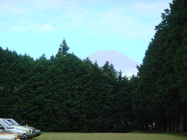 しかも富士山見えるぅ~!これ以上無い良い天気だよぉ~!ありがとう神様、仏様!