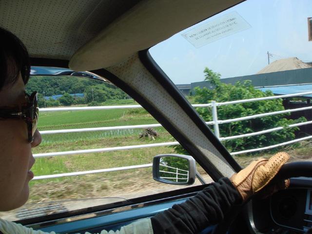 N子はん:「この辺、道路が空いてて走りやすいねぇ~。」 M姉:「東京にもこんなところがあるんだねぇ~。」 N子はん:「ねぇ~」・・・やっぱり!!!