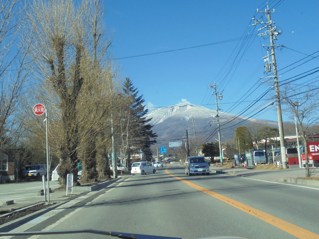 いやぁ~気持ちいい~!同じ日本とは思えませんねぇ、空の広さが違います。