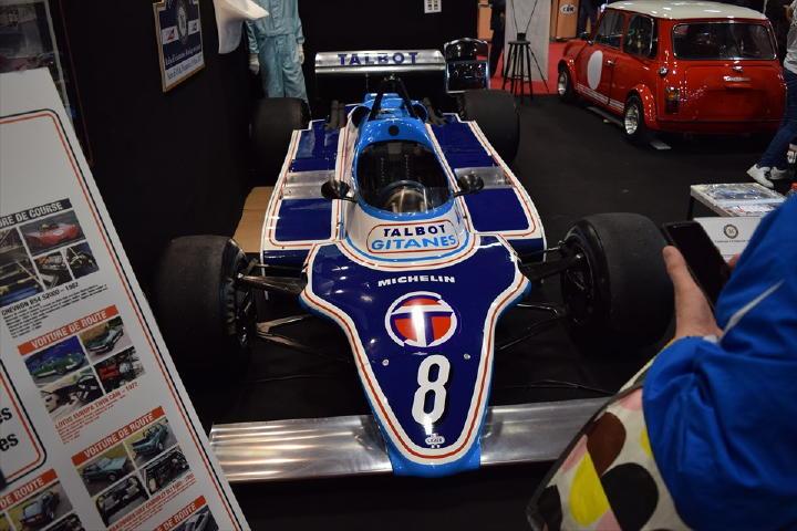 TALBOT製エンジンを搭載したF1!Ligier JS17!チーム、エンジン、シャシー、スポンサーもすべてフランスの純フランスF1チーム!