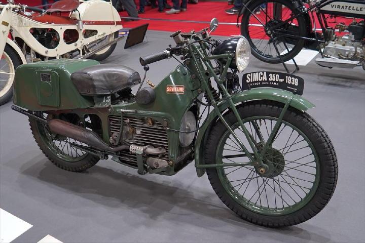 ・・・っと思った矢先、SIMCAのバイク発見!これだけはご紹介させていただこうかと・・・。