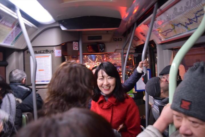で、初路線バス乗車!なぜか、何でも「初」はワクワクしてしまうのです!