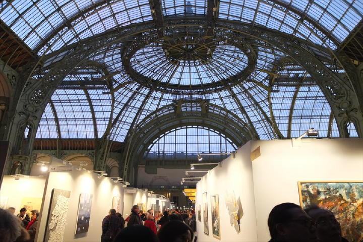 これだけの人が芸術に関わり、そして芸術を愛してる・・・「芸術の都、パリ」に偽り無し!