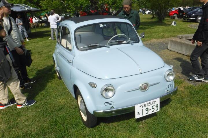 1959年式?って事はDの前のNUOVA500でしょうか。