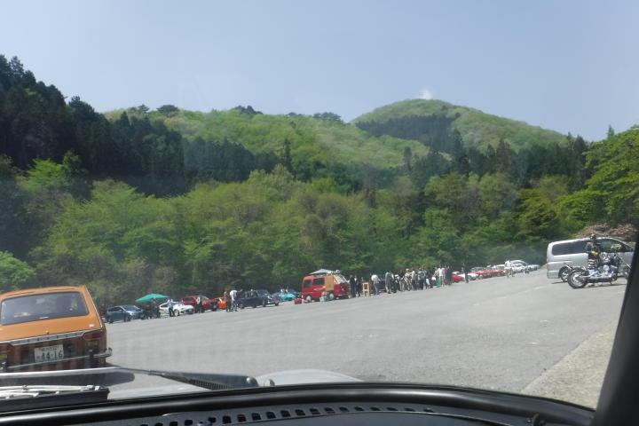 ・・・で、何とか無事、コース途中の休憩ポイントにひとまず到着!